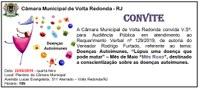 Convite - Audiência Pública - Doenças Autoimunes