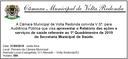 Convite - Audiência Pública - Relatório das Ações e Serviços de Saúde