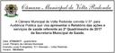 Convite Audiência Pública saúde
