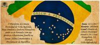 Convite Proclamação da República