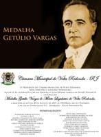 Sessão Solene em comemoração a Medalha Getúlio Vargas